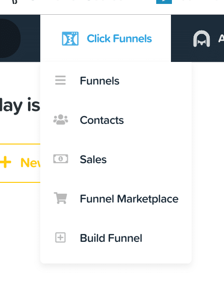 build funnel tab