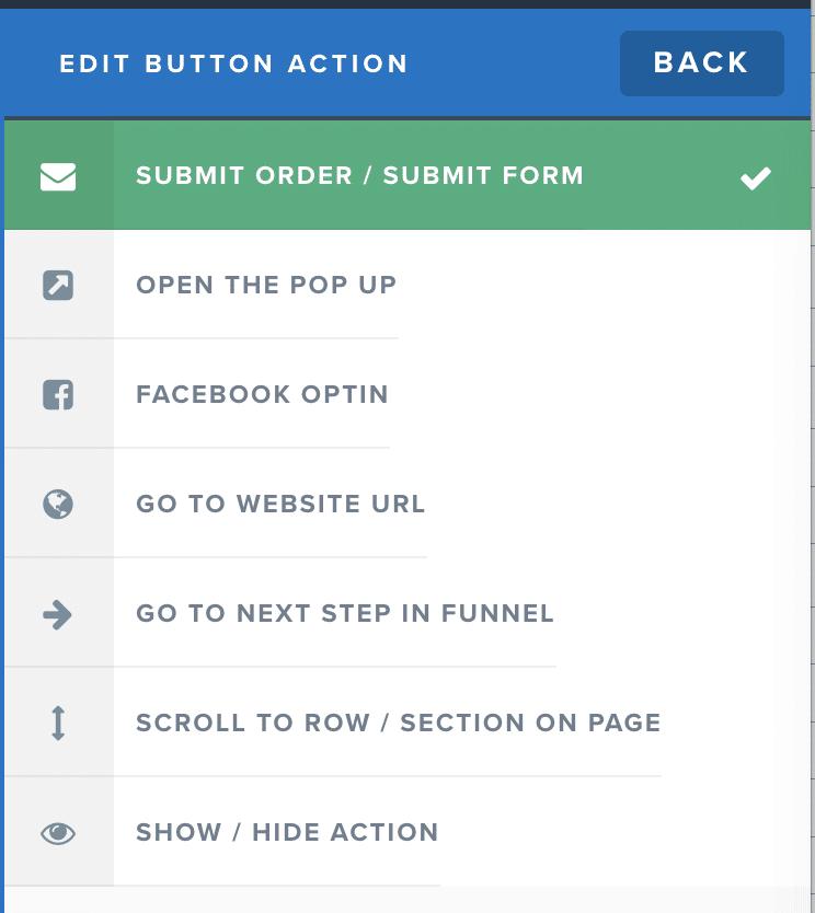 clickfunnels button action