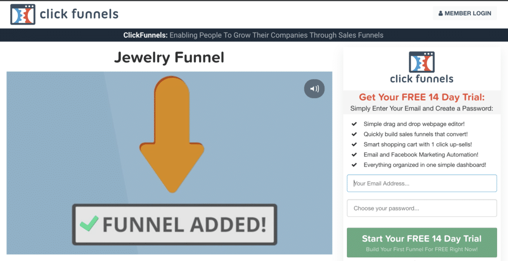 Clickfunnels 14 Day Trial Things To Know Before You Buy